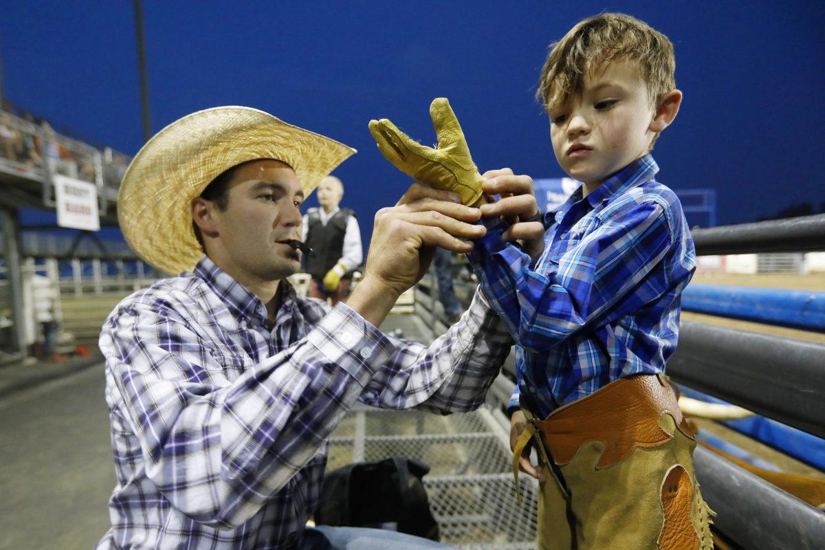 Cody Nite Rodeo: History