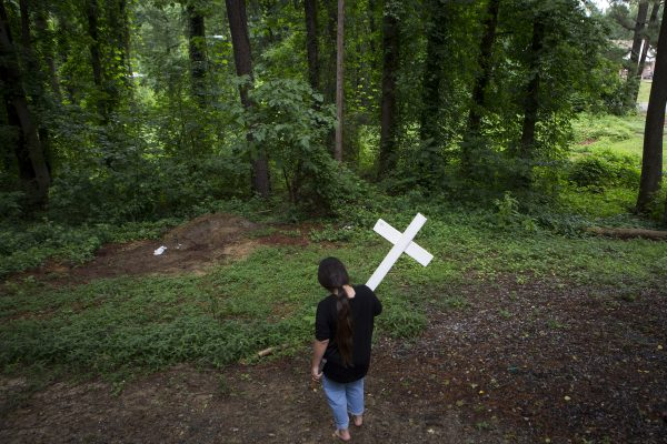 Two days after her mother's partner, Kameel Mohammed's death (of an apparent overdose), Angelina's dog died. She found pieces of wood in the trash to make a cross to mark Harley's grave. She wondered if God might be punishing her by taking her dog for not crying when she found out about Kameel's passing.